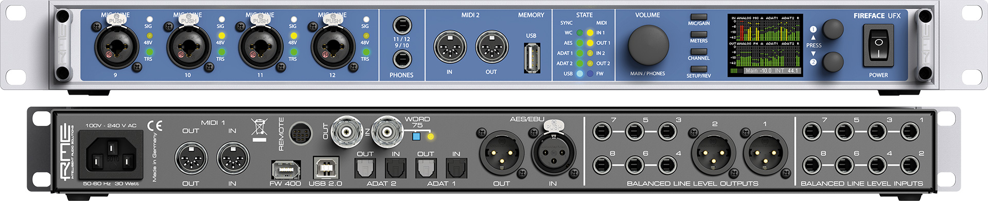how to use analog inputs on rme fireface